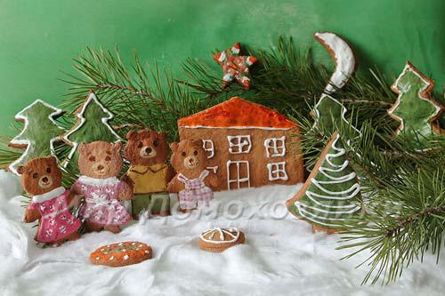 Украшаем дом рождественским печеньем