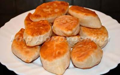 Пирожки с капустой из дрожжевого теста