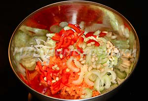 Салат красоты из сельдерея