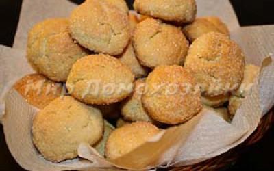 Песочное сахарное печенье