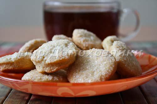 Сахарное печенье к чаю готово!