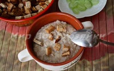 Идеи для завтрака - овсянка на завтрак
