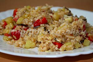 Смесь 4 риса с овощами