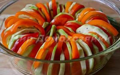 Овощной рататуй