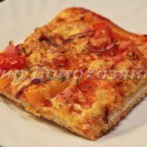 Пицца домашняя - быстрый рецепт