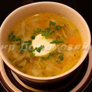 Легкий суп - домашний рассольник