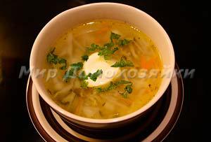 Домашний рассольник - легкий суп