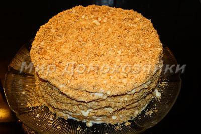 Торт наполеон готов!