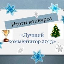 Лучший комментатор 2013