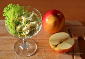 Салаты с сельдереем и яблоком