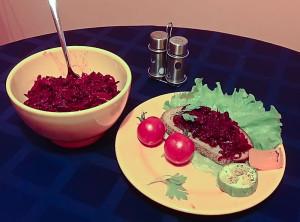 Свекольная икра - отличная закуска