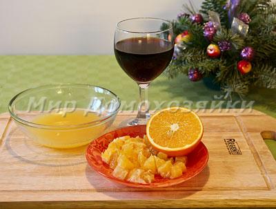 Готовим апельсиновый соус для утиной грудки