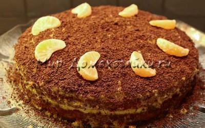 Мандариновый торт готов!