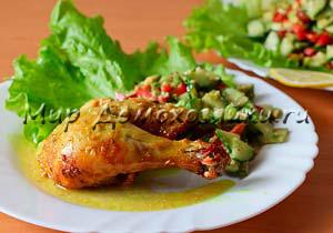 Вкусный маринад для курицы