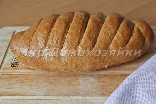 Хлеб ржано-пшеничный готов!