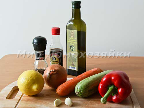 Ингредиенты для тушеных ребрышек