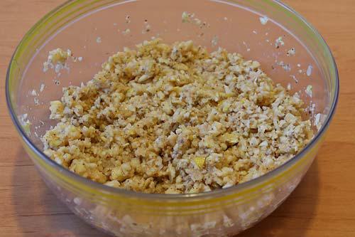 Начинка для орехового пирога