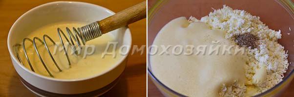 Готовим начинку из творога для пирога