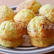 Сырные кексы - быстро и вкусно