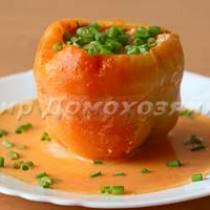 Болгарский перец фаршированный мясом