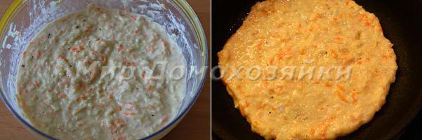 Сделать тесто и выпекать блинчики