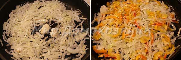 Пассеруем овощи для запеканки