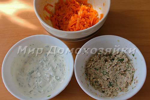 Начинка для закуски из баклажанов