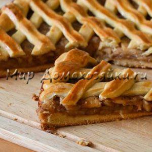 Вкусный яблочный пирог – рецепт от Любови Успенской