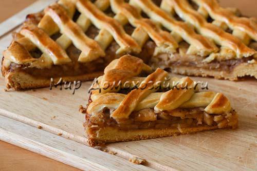 Яблочный пирог по рецепту Любы Успенской