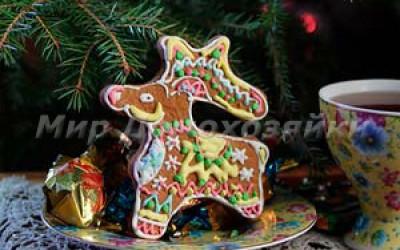 Рождественские пряники Северные козули