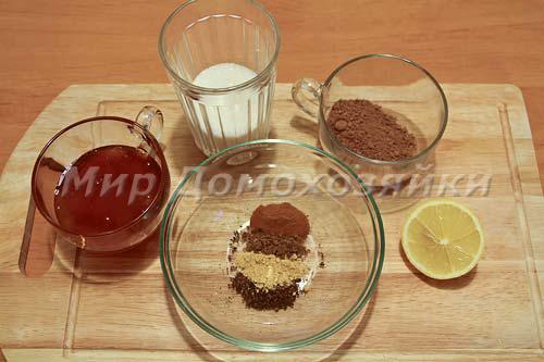 Ингредиенты для рождественского печенья