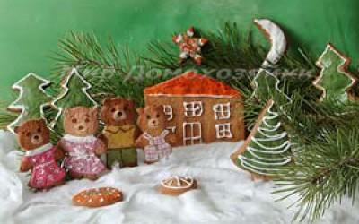Рождественское печенье Village Story