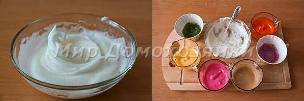 Приготовить белую глазурь для декоративного печенья
