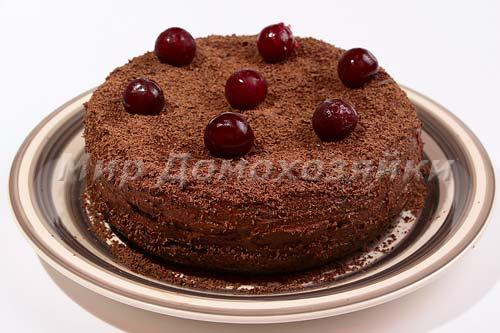 Шоколадный торт в мультиварке готов!