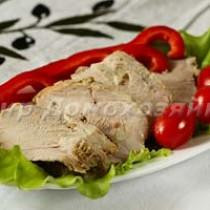 Свинина запеченная куском в духовке