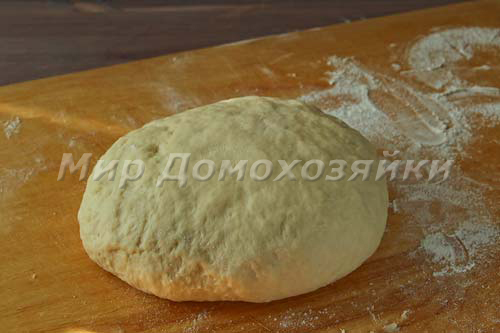 Тесто для пирожков должно быть мягким