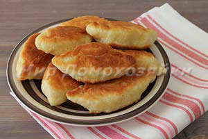 Пирожки на сметане жареные