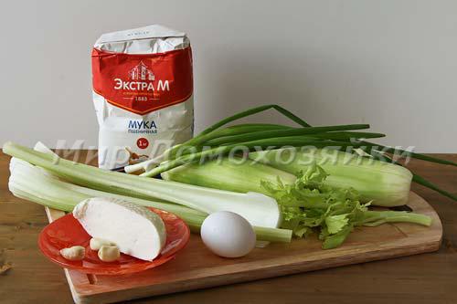 Ингредиенты для кабачковых оладьев
