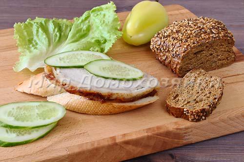 Свиной карбонад хорош для бутербродов