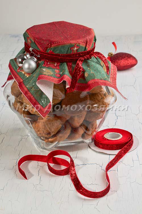 Идеи новогодних подарков своими руками - печенье в подарок