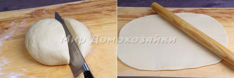 Сметанное тесто для пирога получается гладким и эластичным