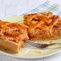 Капустный пирог и сметанное тесто для пирога