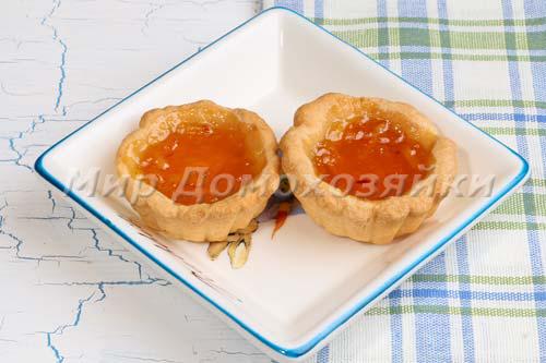 Бонус к пирогу - корзиночки с джемом