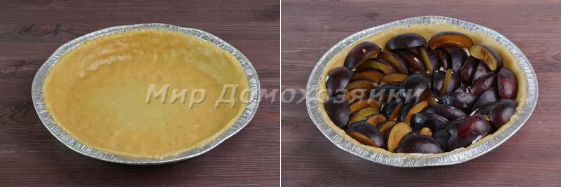 Сделать основу для песочного пирога