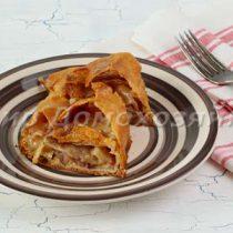 Яблочный штрудель - простой рецепт