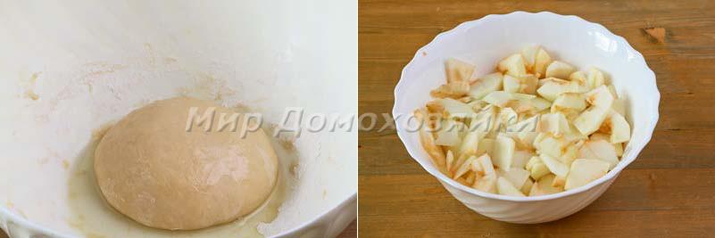 Яблочный штрудель - тесто и начинка