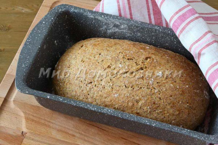 Хлеб в домашних условиях с отрубями 614