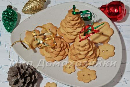 Новогодняя выпечка - простое печенье