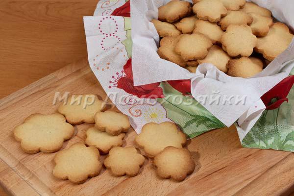Простое печенье песочное