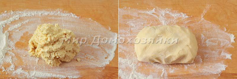 Печенье Спиарльки - ванильное тесто